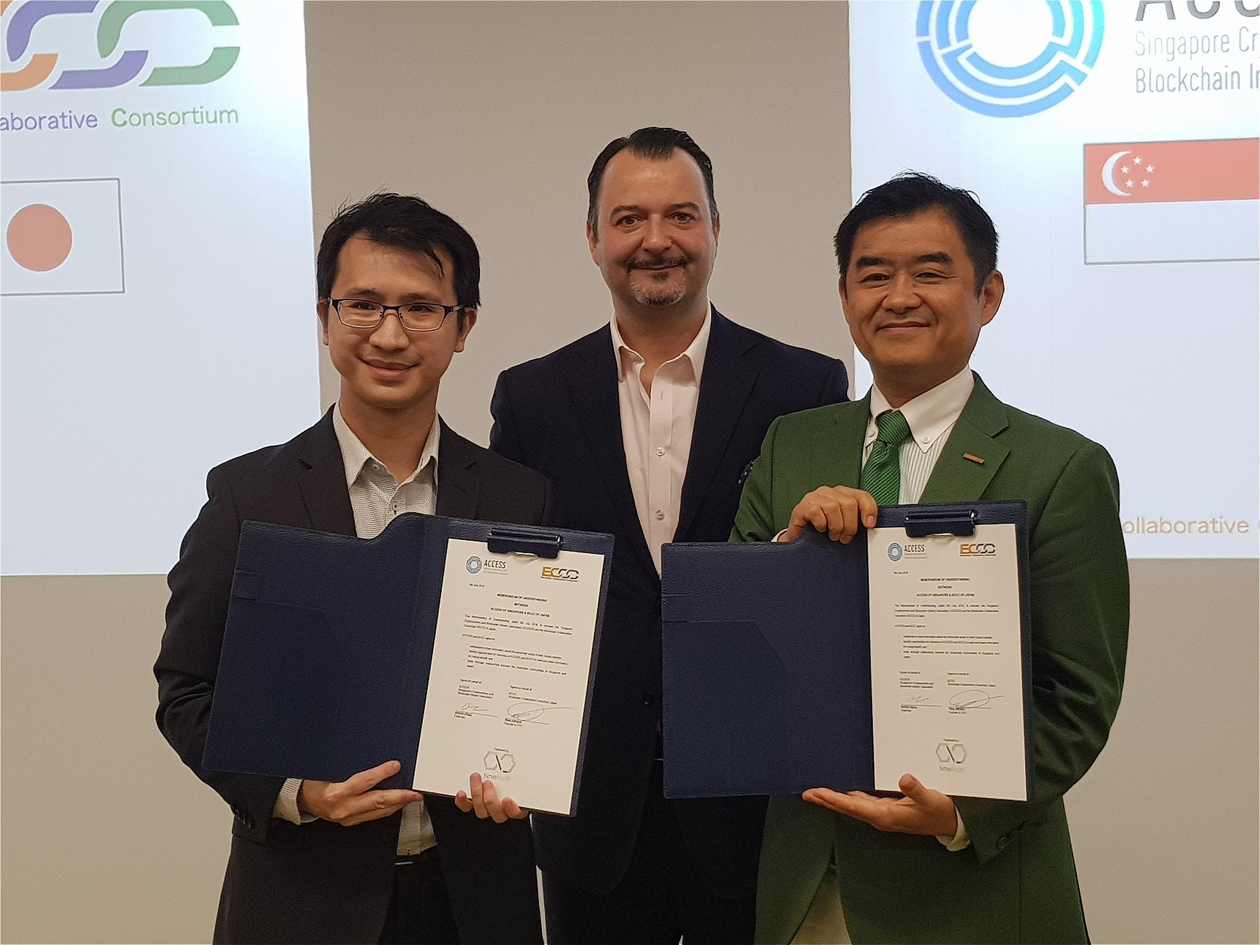BCCCがシンガポールの仮想通貨・ブロックチェーン業界団体ACCESSと協定締結、日本にて調印式を開催